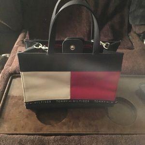 Crossbody or hand held purse